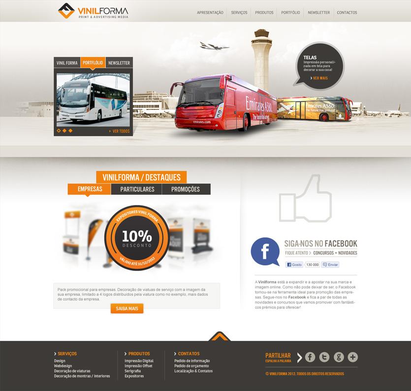 vinilforma homepage Vinil Forma