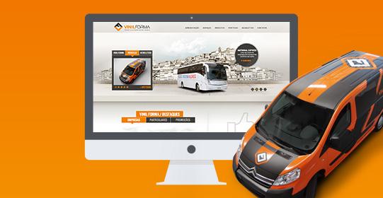 Vinilforma website