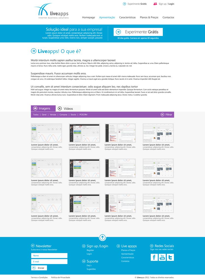 liveapp apresentacao Liveapps
